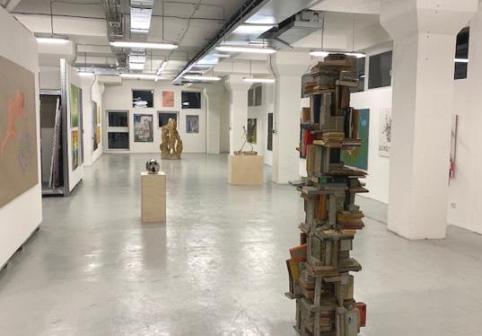 Artefin Galerie Interiér